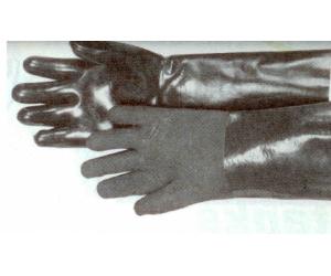 Sandstrahl-Handschuh, links