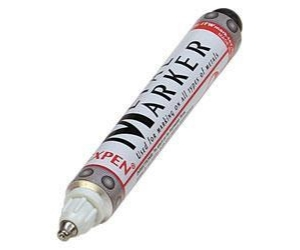 Metall-Marker, weiss