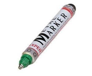Metall-Marker, grün