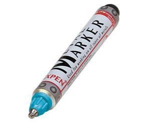 Metall-Marker, blau